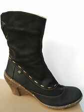 El Naturalista Amber Chaussures Femme 41 Bottes n485 Bottines Luxe Noir UK8 Neuf