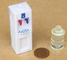 1:12 Scale Free Standing Hot & Cold Water Dispenser Dolls House Drink Accessory