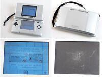 Original Nintendo DS Konsole in der Farbe silber (STARKE GEBRAUCHSSPUREN) #760