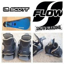 Tabla Snowboard SCOTT USA Tabla 150cm. + Fijaciones automáticas FLOW Pro