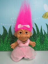 "SLEEPING BEAUTY WITH EYES THAT CLOSE - 5"" Russ Troll Doll - COMPLETE - Rare"
