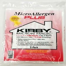 Kirby 205814 F & Twist Style Vacuum Cleaner Hepa Filter 2 Pack of Bags