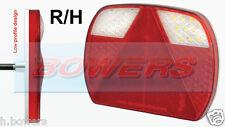 Led autolamps eu200r 12v/24v mano derecha de línea delgada de combinación de remolque de lámpara de luz