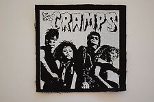 "The Cramps Cloth Patch Sew On Badge Ramones Punk Rock Music Approx 4""X4"" (CP77)"