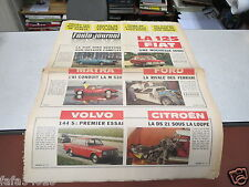 L AUTO JOURNAL N° 424 16 mars 1967 Volvo 144S Citroen DS21 Fiat Dino Matra 530 *