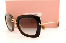 Brand New Miu Miu Sunglasses MU 07O 07OS KAY0A7 BLACK/BRONZE/GREY GRADIENT Women