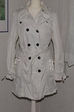 ESPRIT Mantel Trenchcoat Gr XL 42 weiß mit heruasnehmbarer Weste