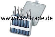 GEDORE Durchtreiber Set Metallkassette Werkzeug Treiber Set Körner 6 tlg No 348