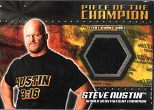 WWE Stone Cold Steve Austin 2001 Fleer Championship Clash Shirt Relic Card ERROR
