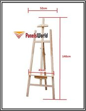 Pine Wood Easel Craft Painting Shop Display Frame Stand 140cm
