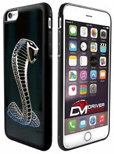 Cell Phone Cases Cover Skin for Apple iPhone 6 Ford Cobra Logo Fade Silver Black