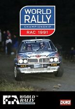 World Rally Championship - RAC 1991 Review (New DVD) FIA WRC Sainz Kankkunen