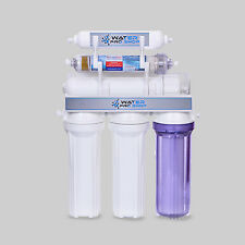Replacement 6 Stage Alkaline (Antioxidant)-Reverse Osmosis Water System: 75 GPD