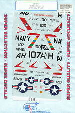 1/72 SuperScale Decals F3H-2 Demon VF-41 CAG VF-161 72-657