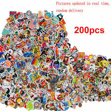 200pc mix lot Stickers Patineta pegatina Graffiti Laptop Luggage Auto Moto Decal