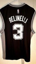 Adidas NBA Jersey Spurs Marco Belinelli Black sz S