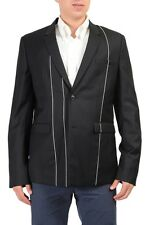 Christian Dior 100% Wool Black Two Buttons Men's Blazer US 36 IT 46