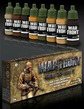 Scale 75 War Front German WW2 Waffen SS Camo (2) Acrylic Paint Set 8 Bottles