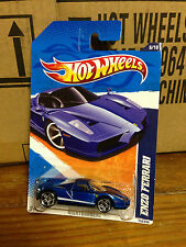 Hotwheels 2011 Ferrari Enzo Blue NightBurnerz Series PR5 wheels HW MONMC HTF