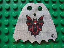 Lego Minifig ~ RARE Printed Bat Lord Cape / Fright Knight Vintage King