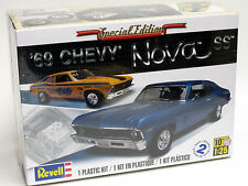 Revell 1/25 '69 1969 Chevy Nova SS Plastic Model Kit 85-2098 852098