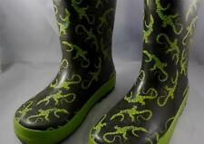 Western Chief Green Alligator Rubber Gum Boots for Girls Size 10