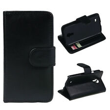Leather Wallet Flip Cover Case Tide New For Samsung Galaxy S4 mini i9190 BK