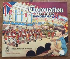 Coronation Procession Panorama Cut-out Raphael Tuck Queen Elizabeth QE2
