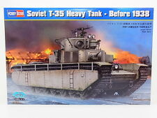 LOT 17444 Hobby Boss 83842 Soviet T-35 Heavy Tank Before 38 1:35 Bausatz NEU OVP
