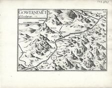 Antique maps, gouvernement d'embrun