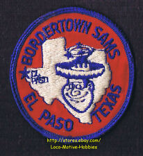 LMH Patch 1970s GOOD SAM CLUB Samboree Rally BORDERTOWN SAMS  El Paso TX Star 3""