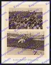 Deutsches estadio berlín inauguración Theodor Lewald banderas stand especies Turner 1913