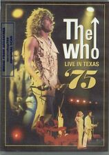 DVD THE WHO LIVE IN TEXAS '75 SEALED  NEW LIVE