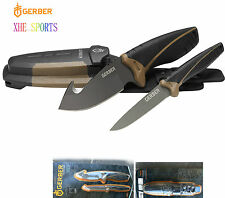 Gerber Myth FIELD DRESS KIT Compact Fixed Blade Pro Knife + Sharpener 31-001159