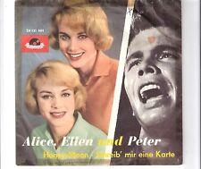 PETER KRAUS mit ALICE & ELLEN KESSLER - Honey moon