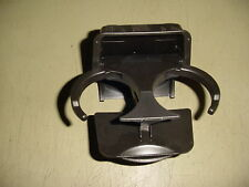 05 06 07 08 Chevy Equinox Torrent Console REAR Pull Out Cup Holder DARK GREY