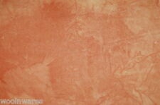 """HAND-DYED VELVETEEN for QUILTING & APPLIQUE {Over-Dyed} ~ """"JUST PEACHY"""""""