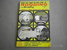 RODDING & RE-STYLING MAGAZINE  JULY 1961..CADDY BLINKERS FOR YOUR FORD