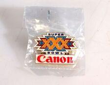 ORIGINAL CANON SUPER BOWL XXX PIN