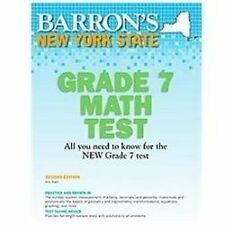 NEW - New York State Math Grade 7 Test, 2nd Edition
