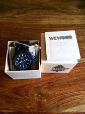 NEW WeWood Wood Date Black Watch - 100% Blackwood