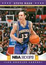 2012 13 Panini NBA Hoops #208 Steve Nash Los Angeles Lakers NM Trading Card