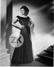 GENE TIERNEY Film Noir Robe Mode Fashion Ambiance Photo 1950