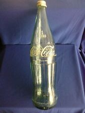 BOTELLA DE CRISTAL COCA-COLA LIGHT 1 LITRO  MUY ANTIGUA, RETRO, VINTAGE