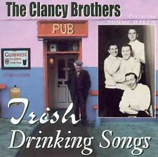 The Clancy Brothers : Irish Drinking Songs CD (1999)***NEW***