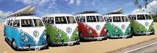 """""""Tür"""" Poster VW Bus  5 Californian Camper Beach NEU TP383"""