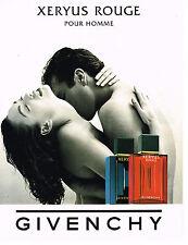 PUBLICITE ADVERTISING  1995   GIVENCHY   senteurs pour homme