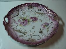 Vintage IPF Germany Porcelain Serving bowl with open handles. NICE