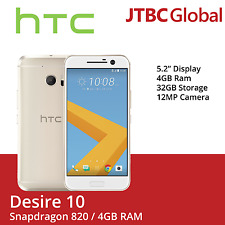 New HTC 10 M10h 5.2 Inch 4GB Ram 32GB 12MP Factory Unlocked Gold Smartphone