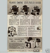1967 PAPER AD Polaroid Camera 210 Outfit 230 250 Swinger